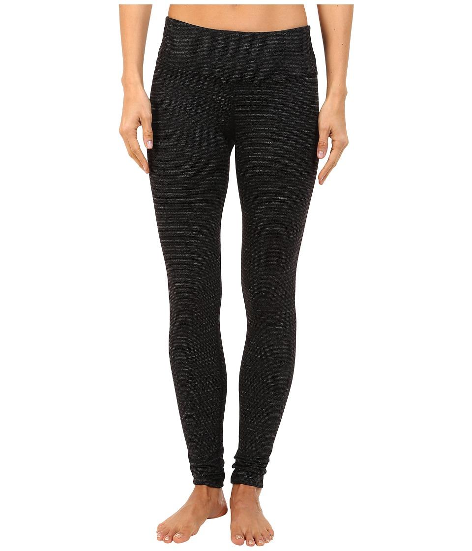 Hard Tail - Flat Waist Ankle Leggings (Black) Women's Casual Pants