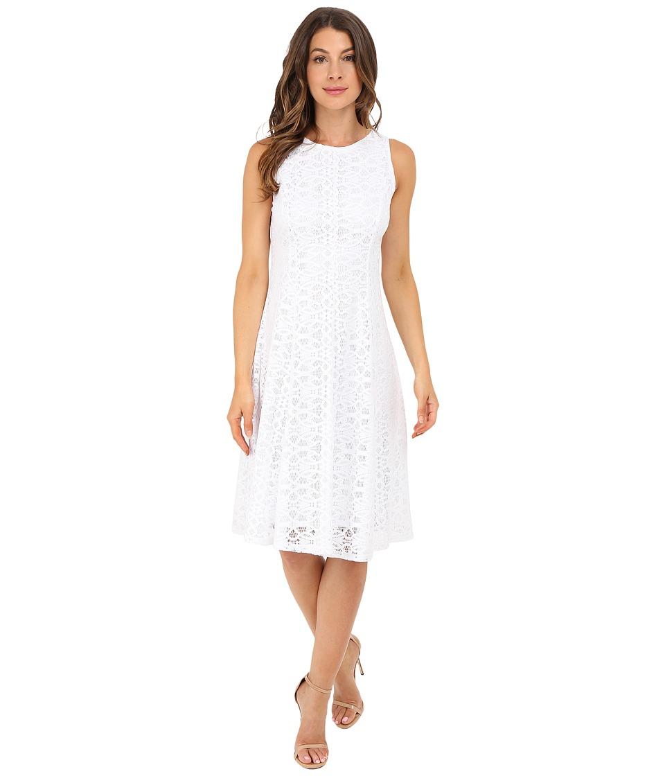 Christin Michaels Annalise Dress White Womens Dress