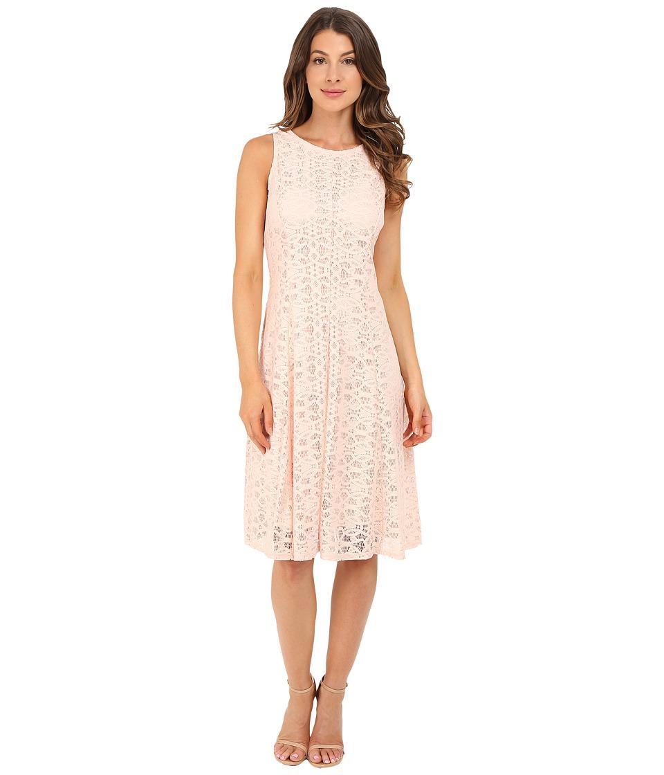 Christin Michaels Annalise Dress Peach Womens Dress