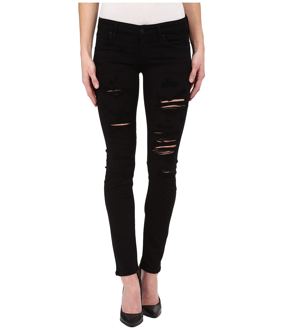 A Gold E Chloe Low Rise Slim in Moonstruck Moonstruck Womens Jeans