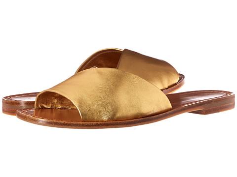 Diane von Furstenberg Caserta - Gold Metallic Nappa