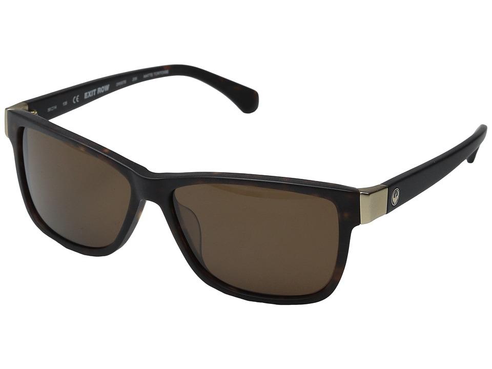 Dragon Alliance Exit Row Jet/Grey Fashion Sunglasses