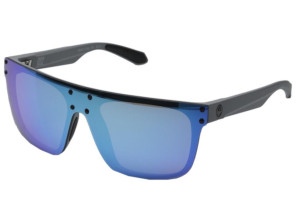 Dragon Alliance DS2 Grey Matter/Sky Blue Ion Fashion Sunglasses