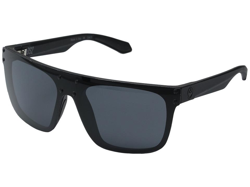 Dragon Alliance DS2 Matte Black/Grey Fashion Sunglasses