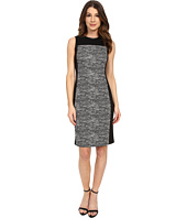 Calvin Klein - Blocked Jaquard & Mesh Sheath