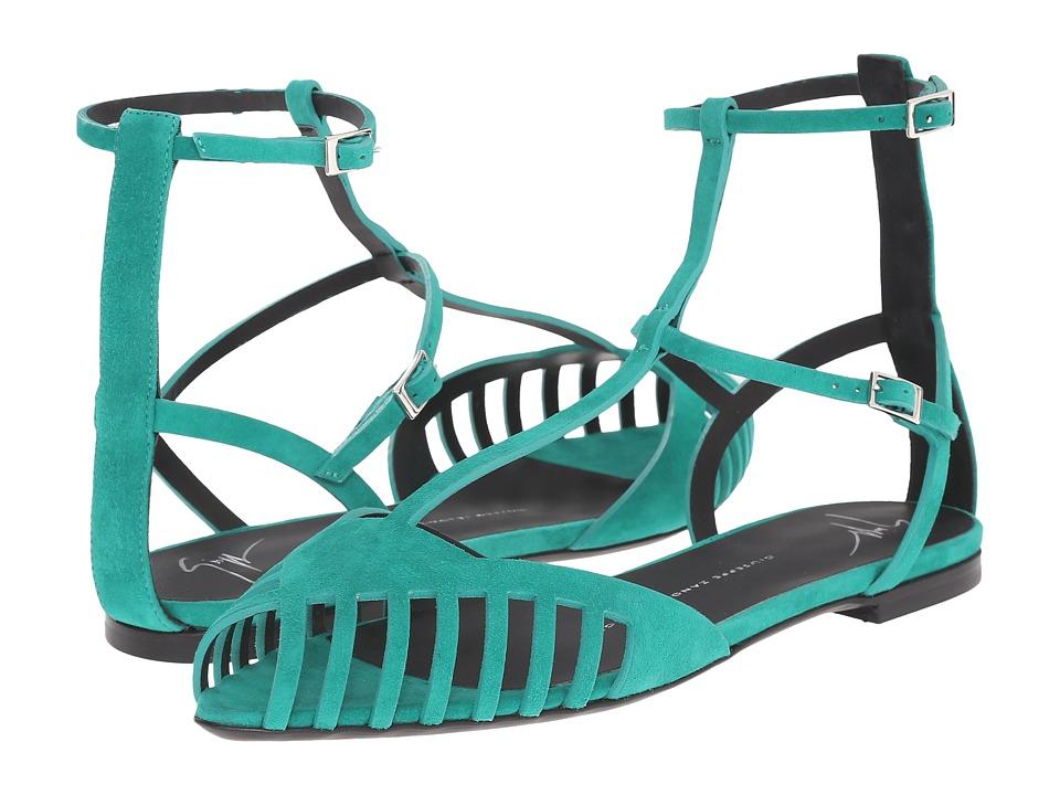 Giuseppe Zanotti E60280 Turquoise Womens Shoes