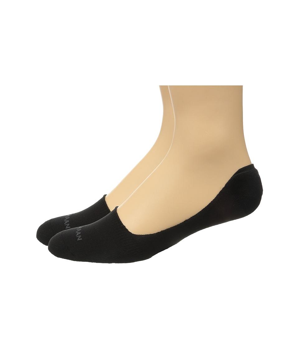 Cole Haan - 2-Pack Casual Cushion Liner (Black) Men's Crew Cut Socks Shoes