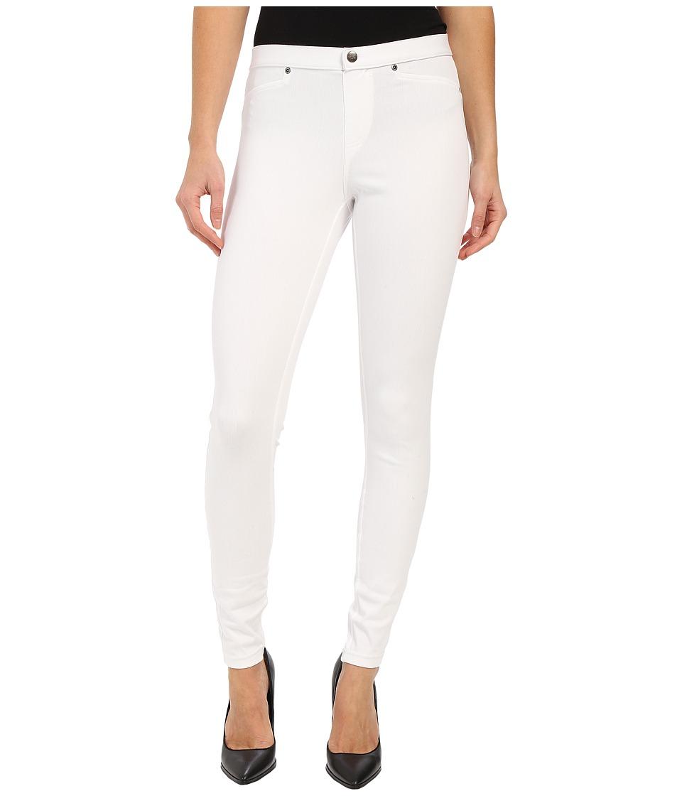 HUE Super Smooth Denim Leggings (White) Women