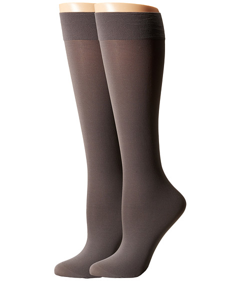 Cole Haan 2-Pack Solid Knee Highs