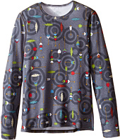 Hot Chillys Kids - Original 2 Print Crew Neck (Little Kids/Big Kids)