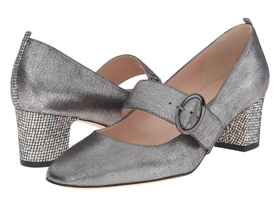 SJP by Sarah Jessica Parker Tartt Startle Gunmetal Leather High Heels