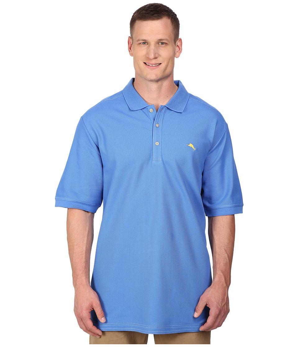 Tommy Bahama Big & Tall - Big Tall Emfielder Polo Shirt (Palace Blue) Men