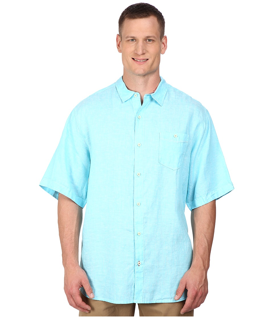 Tommy Bahama Big & Tall - Big Tall Short Sleeve New Party Breezer