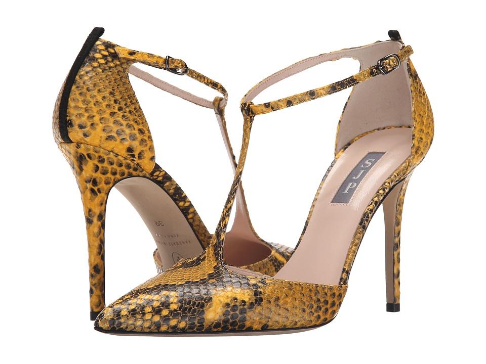 SJP by Sarah Jessica Parker - Taylor (Honeycomb Yellow Print Python) Women