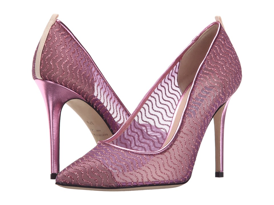 SJP by Sarah Jessica Parker Barbie William Pink Glitter Womens Shoes