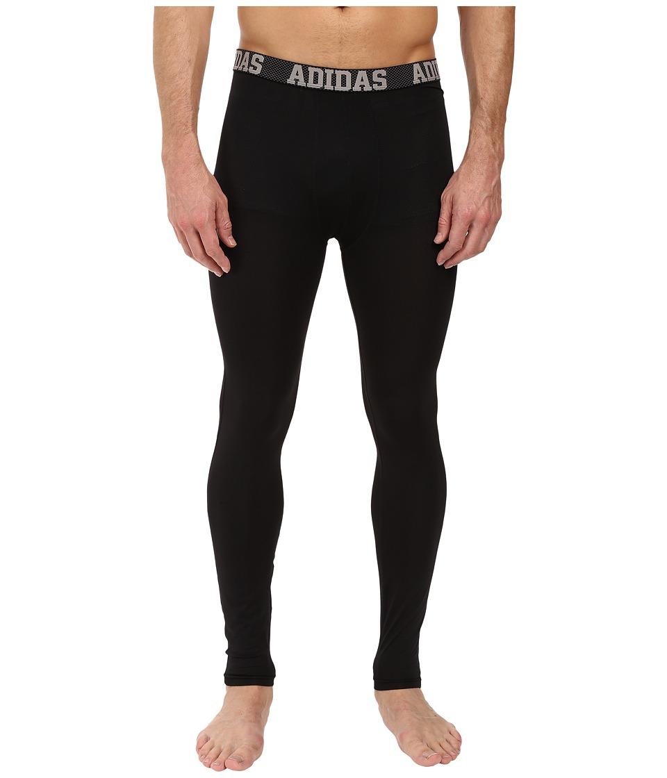 adidas - Climacool Single Base Layer Pants (Black) Men's Underwear