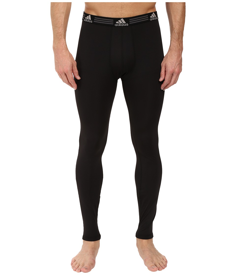 adidas Climalite Single Base Layer Pants (Black) Men