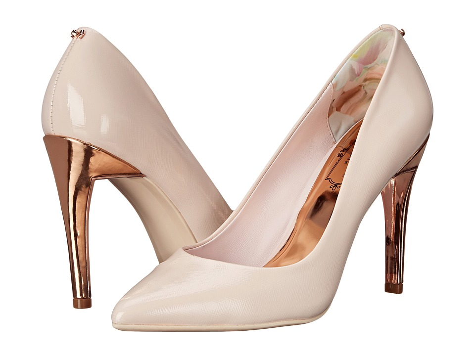 Ted Baker Cossay Light Pink Leather High Heels