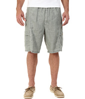 Tommy Bahama Big & Tall - Big & Tall Summerland Keys Elastic-Waist Linen Short
