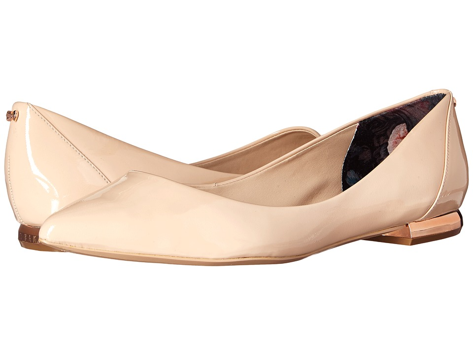Ted Baker Izlar 2 Nude Patent Womens Shoes