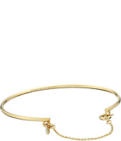 Vince Camuto - Chain & Crystal Charm Cuff Bracelet