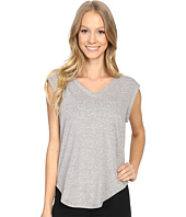 Zobha - V-Neck Muscle Tee w/ Open Back