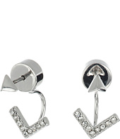 Vince Camuto - Pyramid Stud Front Back Earrings