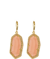 Vince Camuto - Pave Border Stone Earrings