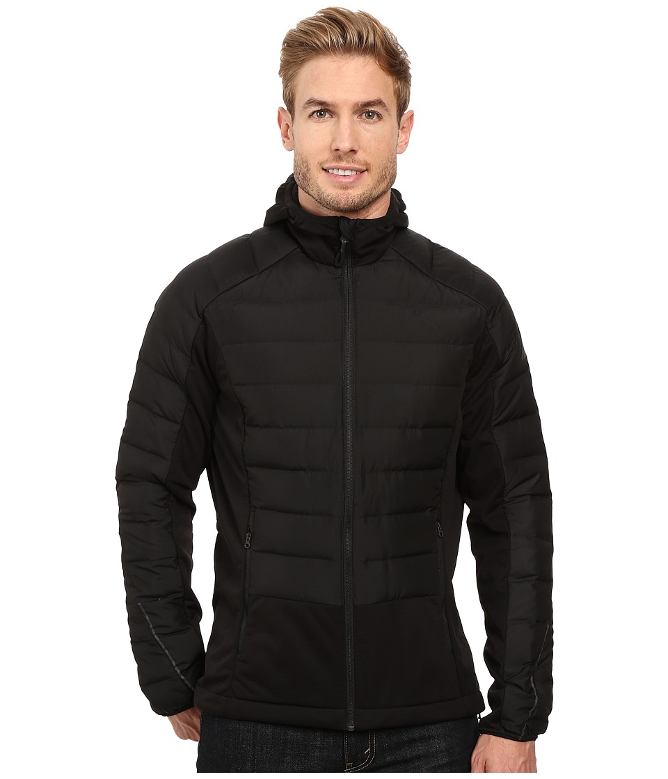 adidas Outdoor Hiking Hybrid Down Hoodie (Black 2) Men