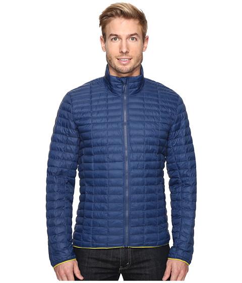 adidas Outdoor Flyloft Jacket - Mineral Blue/Unity Lime