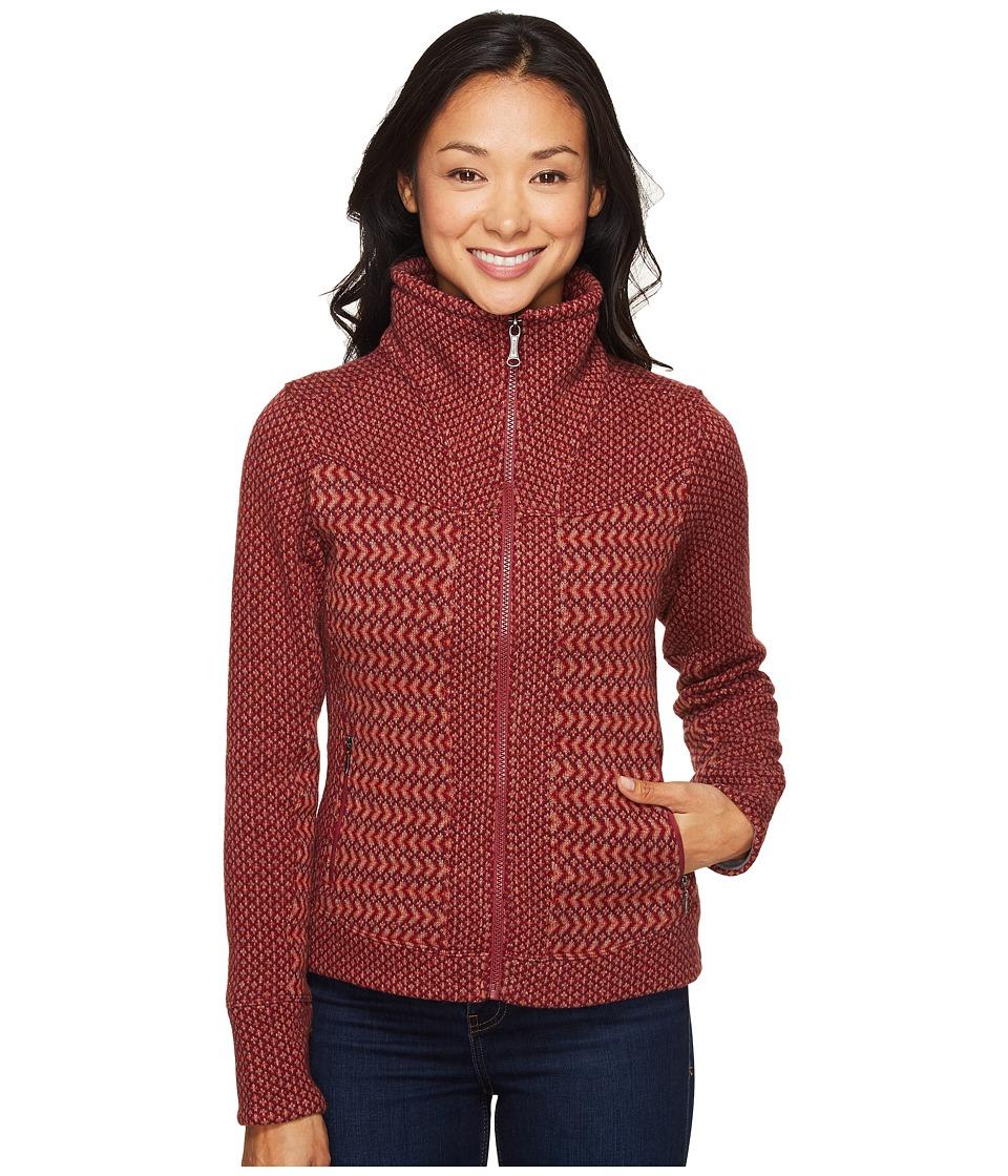 Marmot Gwen Sweater (Madder Red) Women