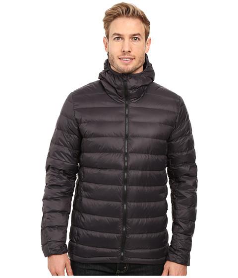 Down hooded jacket utility black zappos com free shipping both ways