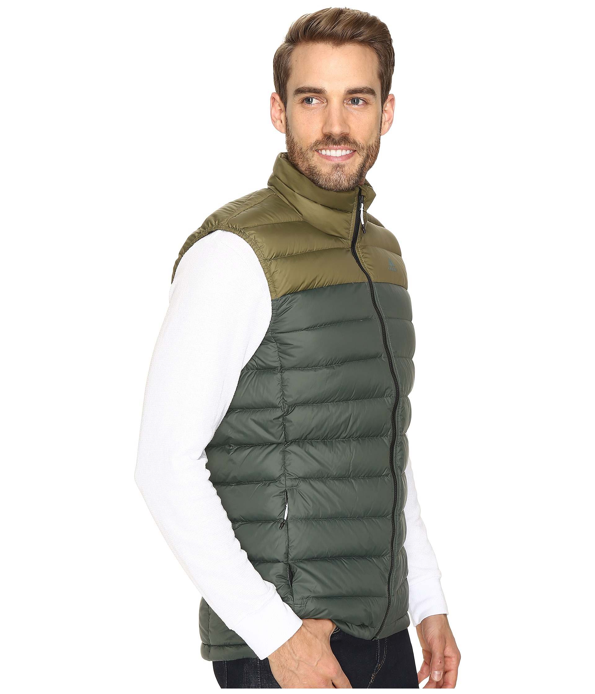 Light down vest black utility ivy zappos com free shipping both ways