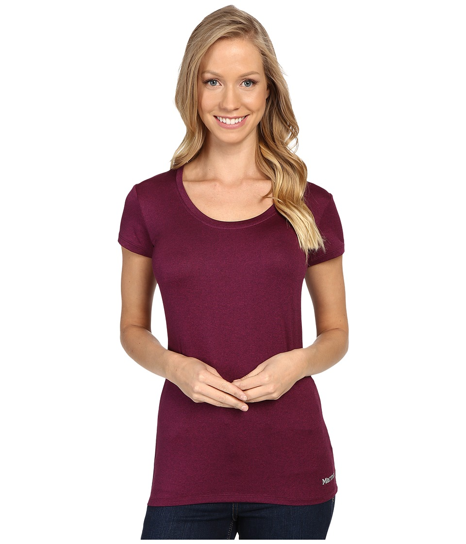 Marmot All Around Tee S/S (Magenta Heather) Women