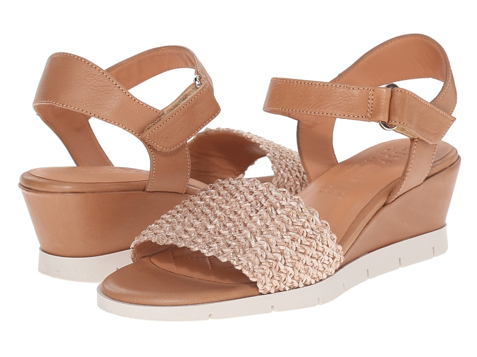 Hispanitas Calista Straw/Avena Womens Wedge Shoes
