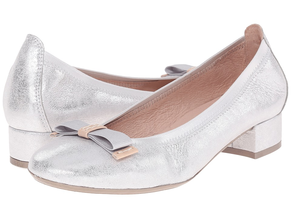 Hispanitas Cassidy Magic Silver Womens Flat Shoes