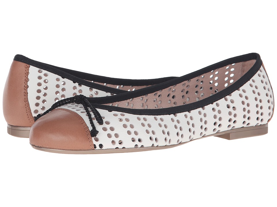 Hispanitas Jodie Sauvage Cammeo/Sauvage White Womens Flat Shoes