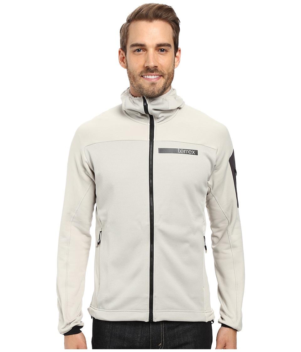 adidas Outdoor Terrex Stockhorn Fleece Hooded Jacket (Sesame) Men