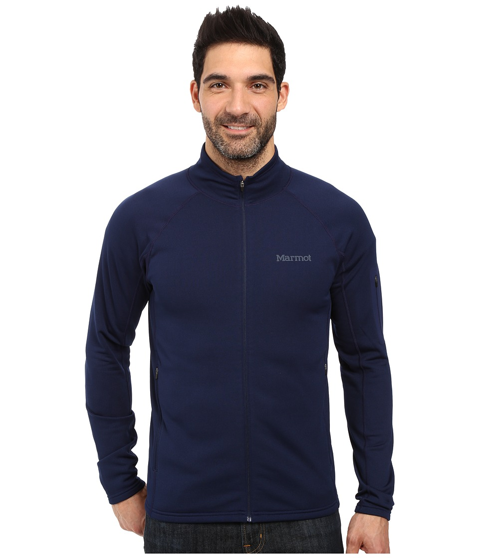 Marmot Stretch Fleece Jacket (Arctic Navy) Men