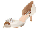 Badgley Mischka - Petrina (Ivory Satin)
