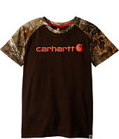 Carhartt Kids - Camo Raglan Tee (Big Kids)