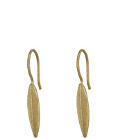 LAUREN Ralph Lauren - Modern Leaves Metal Gold Leaf Drop Earrings