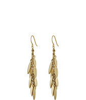LAUREN Ralph Lauren - Modern Leaves Metal Gold Leaf Cluster Earrings