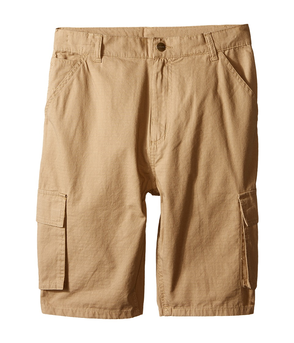Carhartt Kids Ripstop Cargo Shorts Big Kids Dark Khaki Boys Shorts