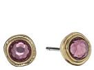 LAUREN Ralph Lauren Pink Sands Round Stone Small Stud Earrings