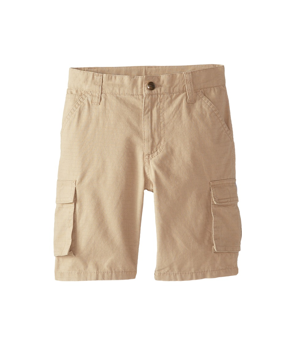 Carhartt Kids Ripstop Cargo Shorts Little Kids Dark Khaki Boys Shorts