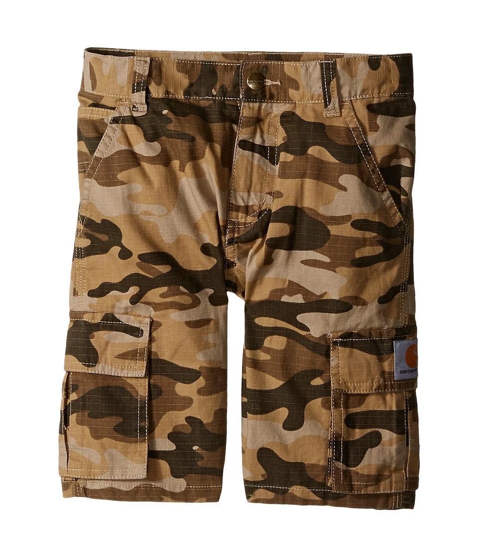 Carhartt Kids Camo Cargo Shorts Little Kids Tan Camo Boys Shorts