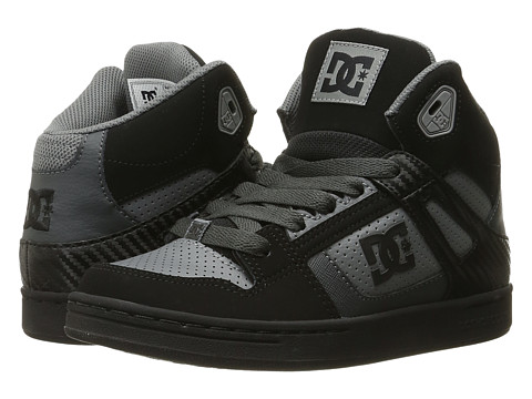 DC Kids Rebound (Big Kid) - Grey/Black/Grey