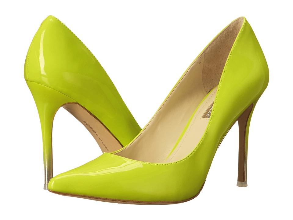 BCBGeneration Treasure Ultra Lime Patent PU High Heels