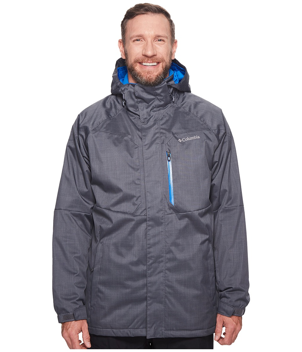 Columbia Big Tall Alpine Actiontm Jacket (Graphite/Super Blue) Men
